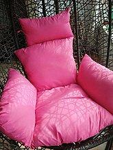 JFFFFWI Thicken Hanging Egg Chair Cushion,soft
