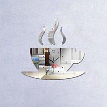 JFNVModern Kitchen Wall Clock Coffee Cup Shaped