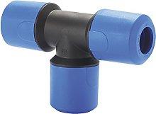 JG Speedfit UG232AB Reducing Tee, Blue, 32 mm