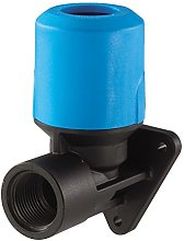 JG Speedfit UGPWB2514 Back Plate Elbow, Blue, 25 x