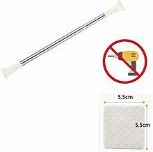 JGFJLO Adjustable Tension Curtain Rod,