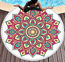 JgZATOA Orange Pattern Beach Towel Large Lovely