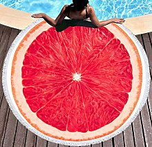 JgZATOA Red Fruit Beach Towel Large Lovely Bath