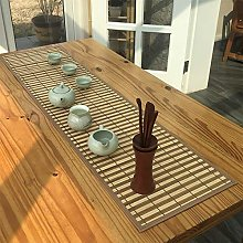 JH1 Natural Bamboo Table Runner for Tea Party