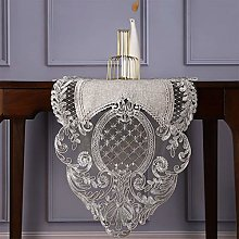 JH1 Wedding Decor Table Runner, Floral Lace and