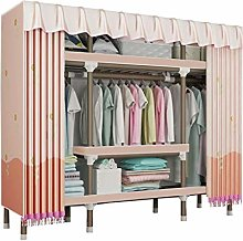 JHDDP3 Wardrobe Folding closet,Hanging Rail