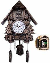 JHKGY European-Style Living Room Cuckoo Wall Clock