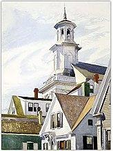 Jhmjqx American Edward Hopper Home Decoration