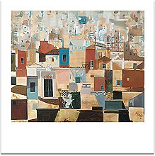 Jhmjqx Canvas Print Poster Painting Scenery