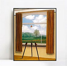 Jhmjqx Canvas The Human Condition By Rene Magritte