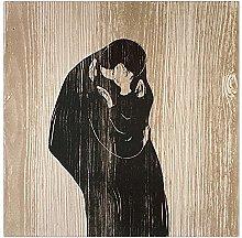 Jhmjqx Edvard Munch Home Decoration Print Canvas