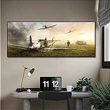 Jhmjqx Fighter Poster Canvas Painting Print Decor