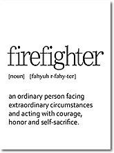 Jhmjqx Firefighter Definition Print Firefighter