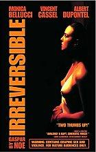 Jhmjqx IRREVERSIBLE Movie Art print Silk poster