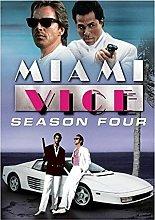Jhmjqx Miami Vice Tv Show Art Film Print Silk