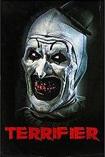 Jhmjqx Terrifier Movie Art print Silk poster Home