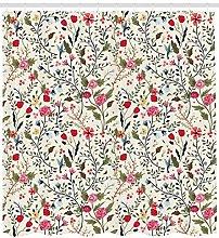 JHTRSJYTJ Bird rose polka dot flower Shower