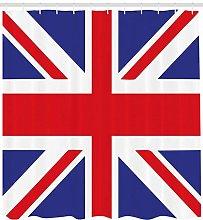 JHTRSJYTJ British Loyalty Symbol Shower curtain is