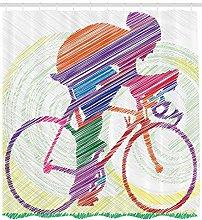 JHTRSJYTJ Modern cyclists are riding bicycles