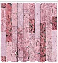 JHTRSJYTJ Rustic planks in pink tones Shower