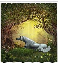 JHTRSJYTJ Unicorn Magical Fantasy Forest Shower