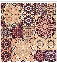 JHTRSJYTJ Vintage Arabesque Flower Tile Shower