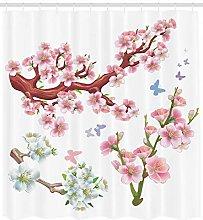 JHTRSJYTJ Vivid flowering branch flowers Shower