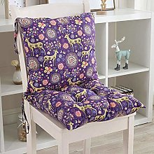 jHuanic Dining Chair Cushion booster Seat Pad Back