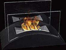 JHY DESIGN Rectangular Tabletop Fire Bowl Pot