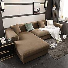 jia cool Sofa Cover Jacquard L-shaped Corner Sofa