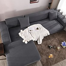 jia cool Stretch Sectional Couch Covers Soft L