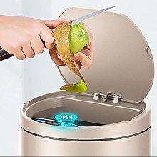 JIAAN Trash Can Touch Bin Tower Kitchen Bin With