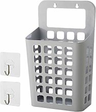 JIACUO Suction Suspension Basket Wall Mounted