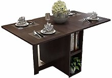 JIADUOBAO Brown Dining Table Picnic Table Chair A