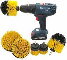 JIAGU Cleaning Scrubber Kit Drill Brush Power