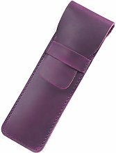 JIAGU Genuine Leather Pen Case with Sleeve Cover,