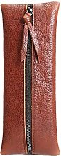 JIAGU Leather Pencil Case with Zipper - for