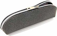 JIAGU PU Leather Pencil Case Pencil Bag Pouch with