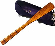 JIAGU Shoe Horn Suitable For Men And Women, Wooden