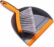 JIAGU Standing Dust Pan 2PCS Small Broom And