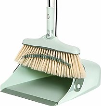 JIAGU Standing Dust Pan Broom And Dustpan Set Wind