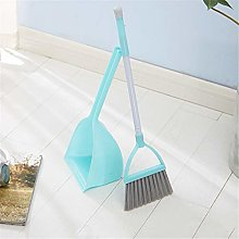 JIAGU Standing Dust Pan Kindergarten Plastic Brush