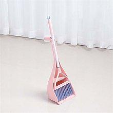 JIAGU Standing Dust Pan Mini Broom And Dustpan Set