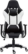 JIAH Game Chair Computer Desk Chair Racing Style