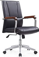 JIAH Office Chair Commercial High Back Leather