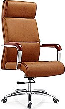 JIAH Office Chair High-back Leather Lift Office