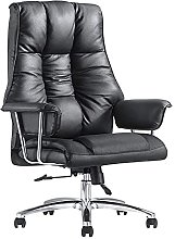 JIAH Office Chair Leather High Back Office Chair