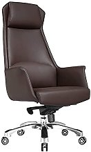 JIAH Office Chair Leather Home Computer Chair