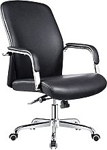 JIAH Office Chair Leather Office Chair Leisure