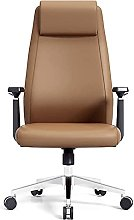 JIAH Office Chair Leather Office Liftable Swivel